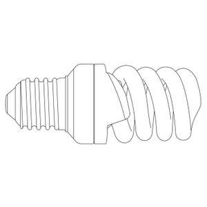 AMPOULE - LED Ampoule basse consommation E27 2700K  Transparent