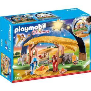UNIVERS MINIATURE PLAYMOBIL 9494 - Christmas - Crèche avec illuminat