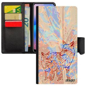 Coque telephone huawei p9 avec carte bleue