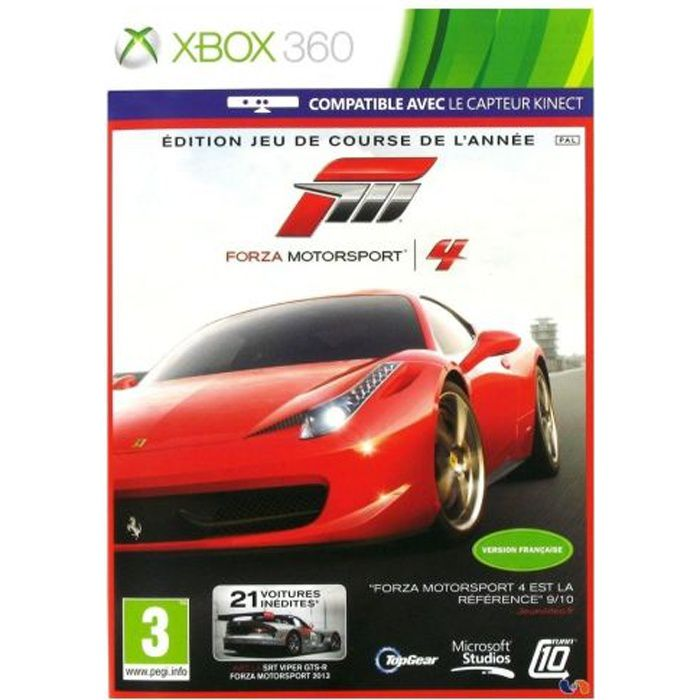 forza motorsport 4 goty jeu xbox 360 achat vente jeux xbox 360 forza motorsport 4 goty. Black Bedroom Furniture Sets. Home Design Ideas