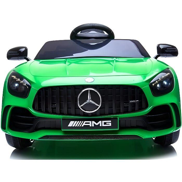 Mercedes GTR 12v Vert - Voiture électrique pour enfant avec batterie 12v et télécommande