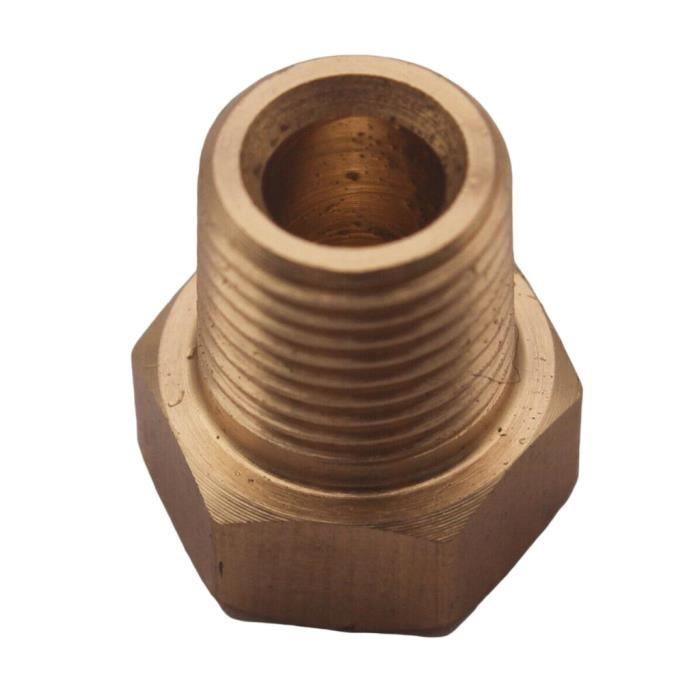 PIECE DETACHEE DE COMPRESSEUR Bouchon de tuyau hexagonal mâle en laiton 1 pièce