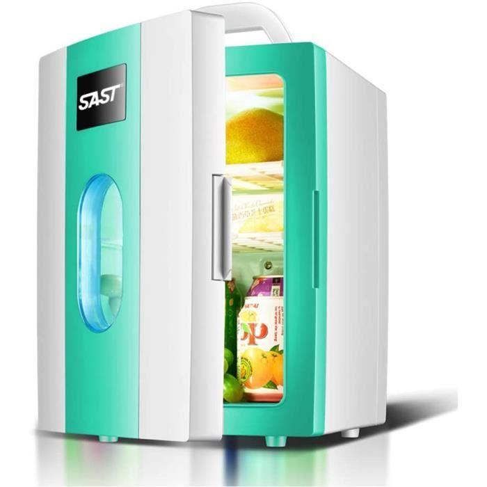 Mini réfrigérateur 8L voiture petit réfrigérateur, refroidisseur thermoélectrique et réfrigérateurs réglables plus chauds pour [27]