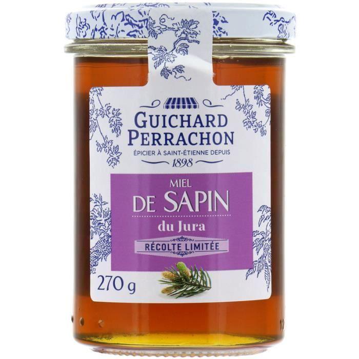 GUICHARD PERRACHON Miel de sapin du Jura - 270 g