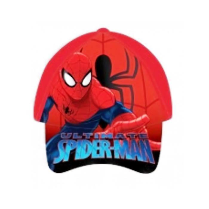 Casquette Spiderman Rouge