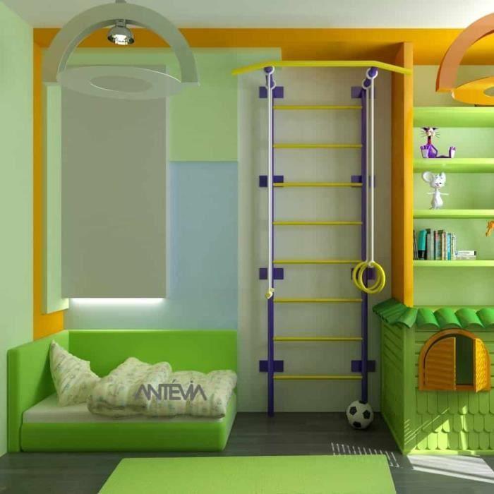 ANTEVIA – Tapis de sol en mousse sans BPA - Plus de 30 Coloris : Dalle clipsable protection jeux sport enfant bébé gym souple