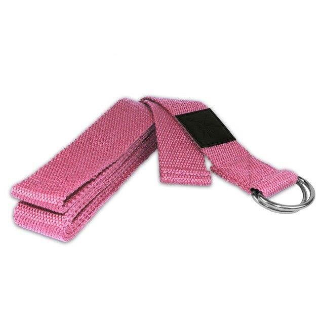 Accessoires Fitness - Musculation,Ceinture Yoga Pilates étirement bande ceinture Yoga StrapFitness musculation - Type Gris clair