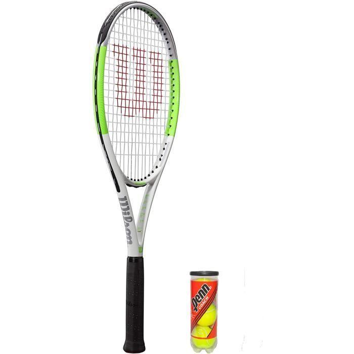 Raquette de Tennis Wilson Blade Feel Team 103 Graphite + (diverses Options)[319]