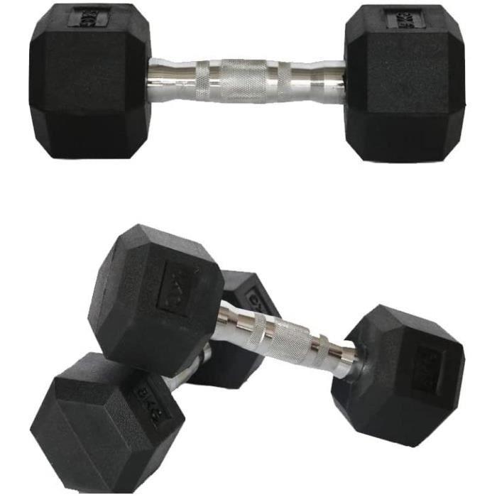 HALTERE Nealpar Lot de 1 halt&egraveres Poids disponibles : 1 kg 2,5 kg 3 kg 4 kg 5 kg 7 kg 8 kg 9 kg 10 kg 10 kg (n&eacuteopr541