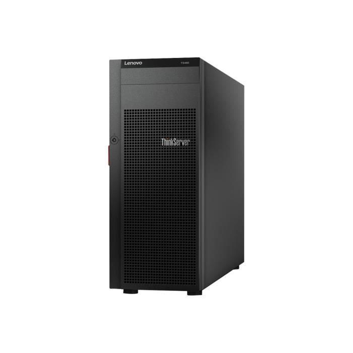 Lenovo ThinkServer TS460 70TT Serveur tour 4U 1 voie 1 x Xeon E3-1220V6 - 3 GHz RAM 8 Go SATA hot-swap 3.5- aucun disque dur…