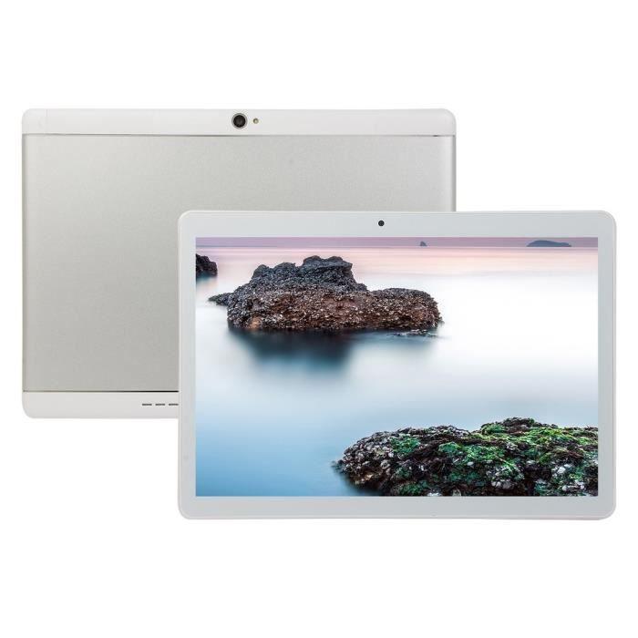 10,1 pouces ordinateur portable 3G Appels téléphoniques Tablette Android PC Wifi Téléphone Gps Tablettes, blanc