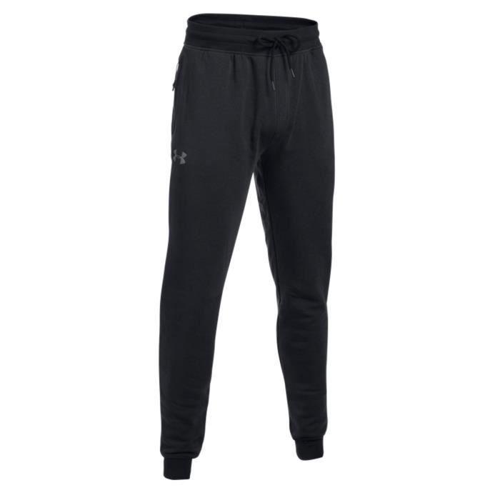 Under Armour Pantalon Threadborne Stacked Noir Pantalon Homme Multisports
