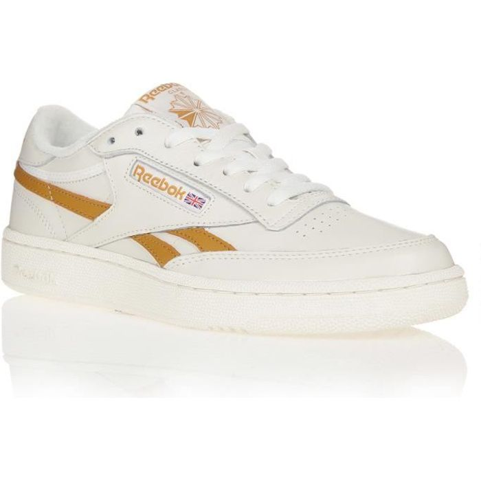 REEBOK Baskets Club C Revenge Blanc/Jaune Mixte