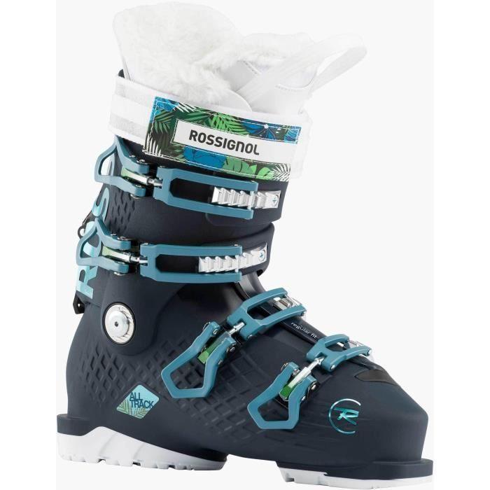 ROSSIGNOL Chaussures de ski ALLTRACK 70 W - Femme - BLACK BLUE