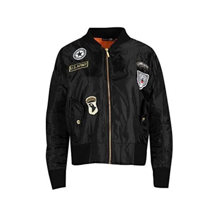 Blouson Perfecto Bomber MJCZI Oops Outlet Baseball Collar Stripes Manches longues Army Military Layer Biker Coat Ma1 Bomber Jacket T
