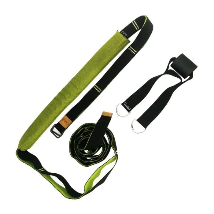 1 Pc Yoga taille bande extensible arrière sangle de civière de jambe épaissie pour le TAPIS DE SOL - TAPIS DE GYM - TAPIS DE YOGA