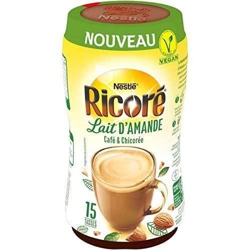 RICORE Lait d'amande - Café et chicorée - Boîte de 190g
