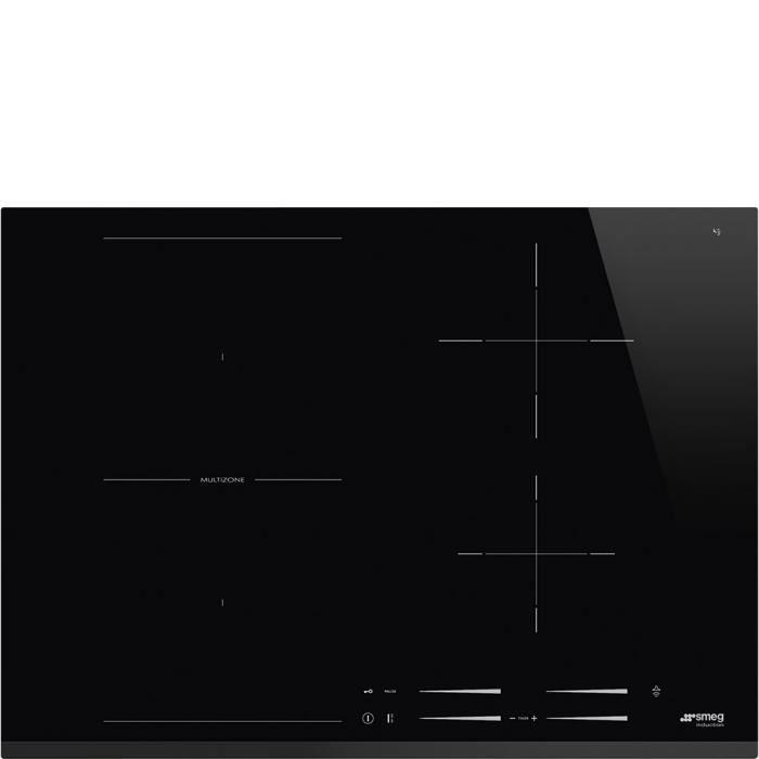 Smeg SI1M7743B, Intégré, Plaque avec zone à induction, Verre-céramique, Noir, 2500 W, 14,5 cm