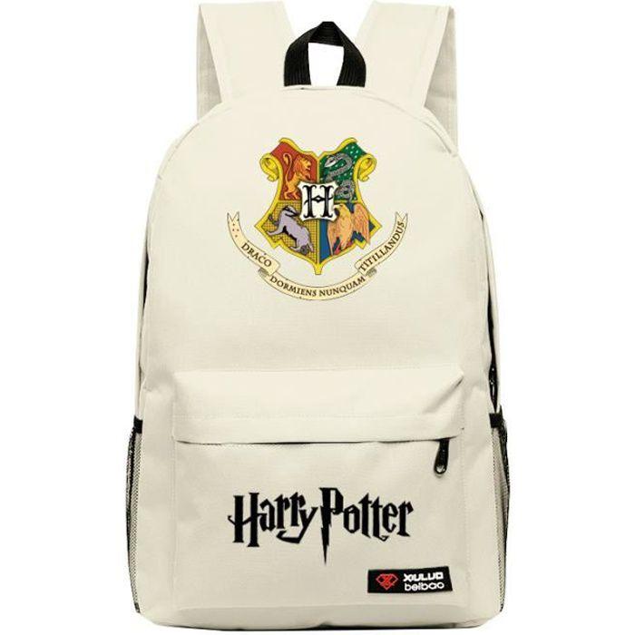 MOBIGARLAN Sac à Dos - Sac d'École cartable étudiant Harry Potter imprimé pour enfant adolescent modèle 03