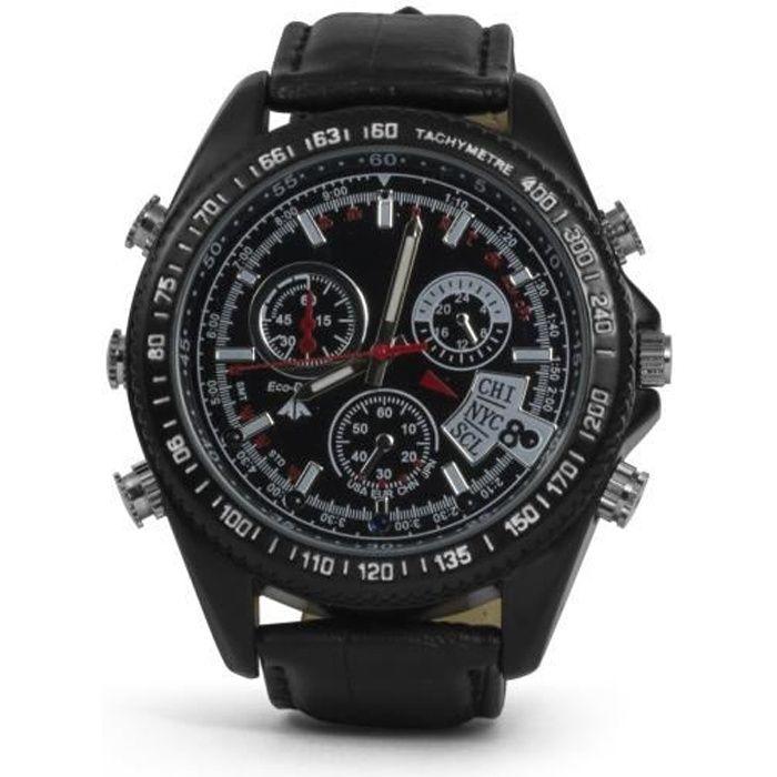 Caméra de surveillance espion en forme de montre-bracelet 8 Go Technaxx 4716 TX-93