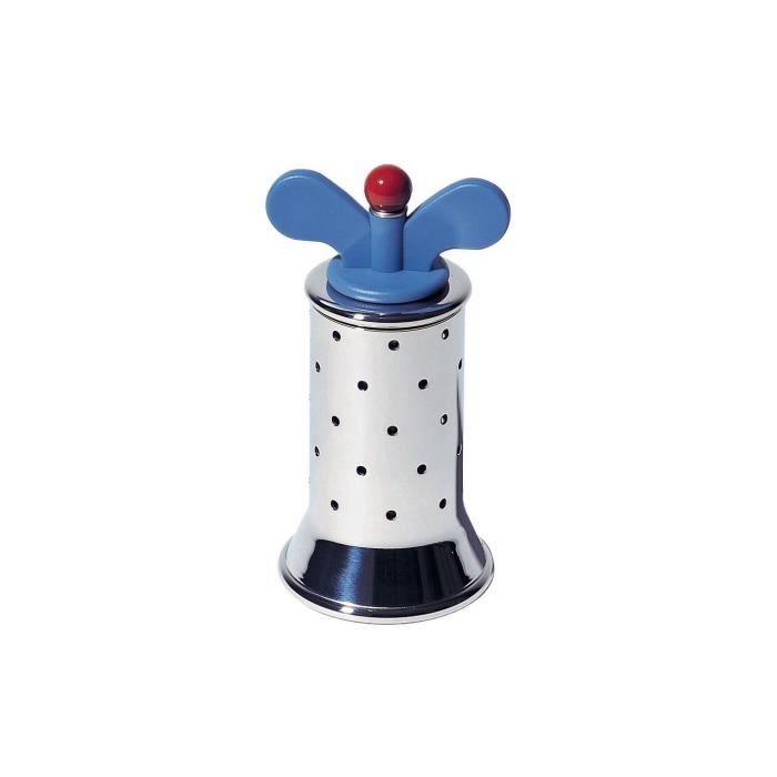 MOULIN DE CUISINE Alessi 9098 Moulin à poivre  Acier-Bleu clair Moul