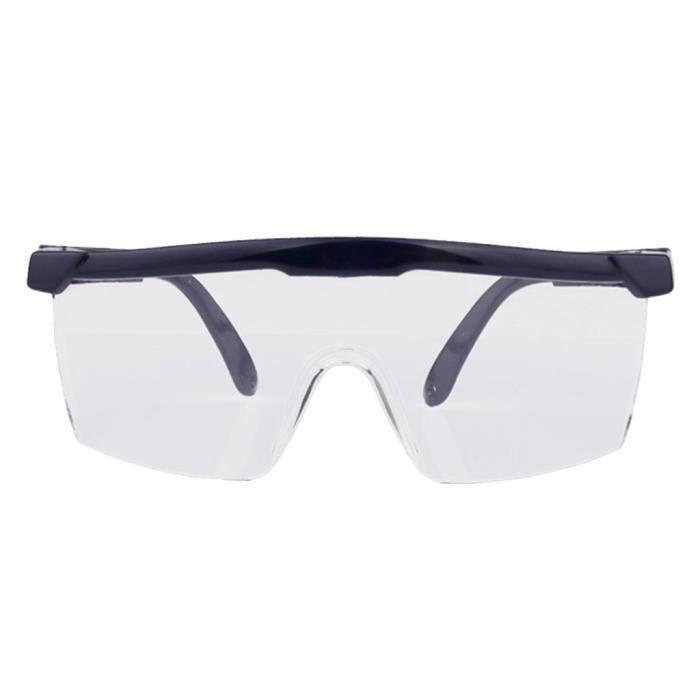 4pcs lunettes anti-chute de haute qualité lunettes de protection anti poussière