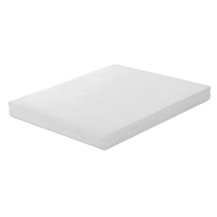 matelas en mousse m moire de forme 160x200 cm memory foam achat vente matelas soldes. Black Bedroom Furniture Sets. Home Design Ideas