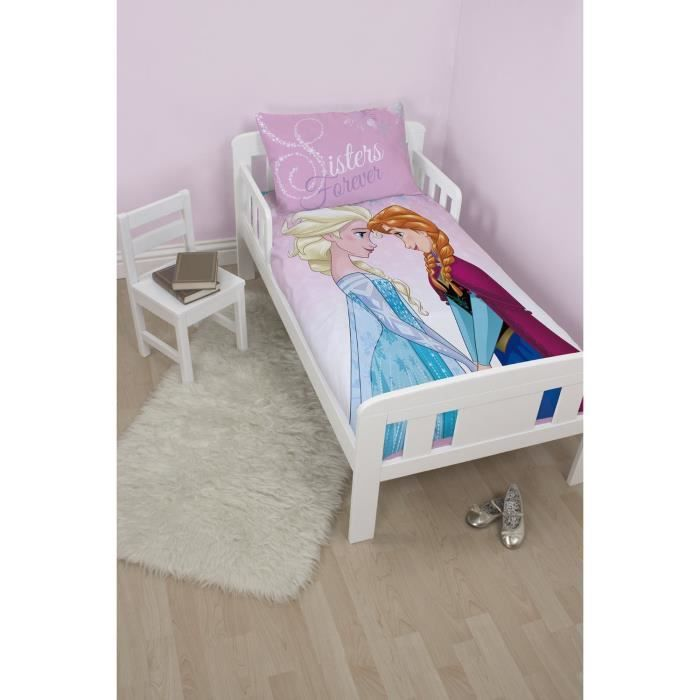 parure de lit reine des neiges frozen b b disney achat vente housse de couette cdiscount. Black Bedroom Furniture Sets. Home Design Ideas