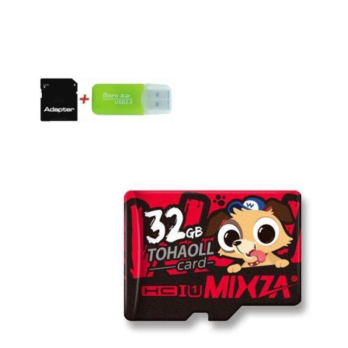 CARTE MÉMOIRE 32 Go Carte mémoire Micro SD Carte mémoire Class10