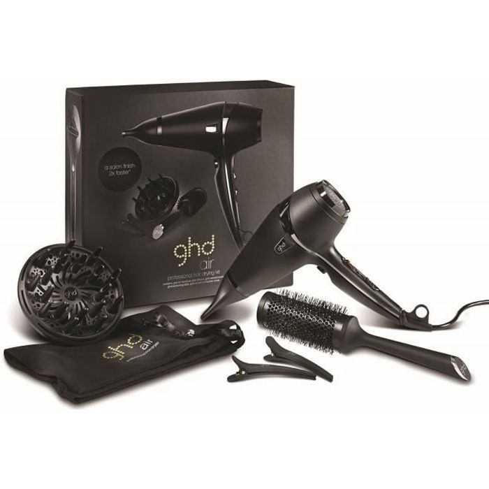 ghd coffret seche cheveux ghd air premium achat. Black Bedroom Furniture Sets. Home Design Ideas