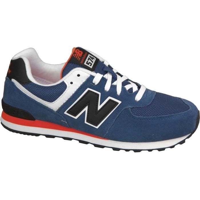 New Balance 574 Rouge Et Blanc