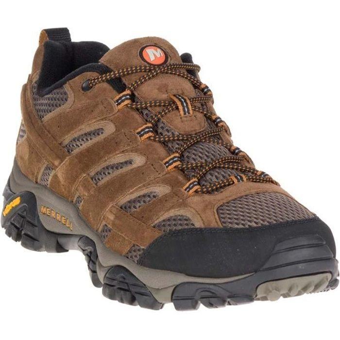 Nouveau Merrell Intercept J73705 Hommes Medium Moth Marron Chaussures de Randonnée Toutes Tailles