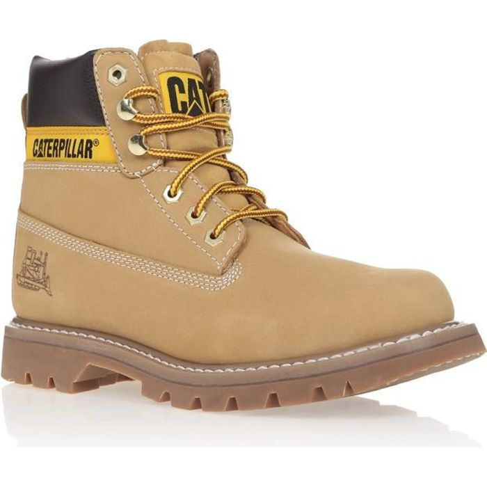 caterpillar bottines colorado chaussures homme miel homme. Black Bedroom Furniture Sets. Home Design Ideas