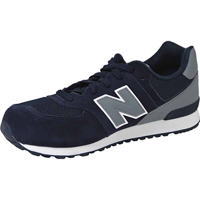 New Balance KL574CWG Enfant Baskets Bleu