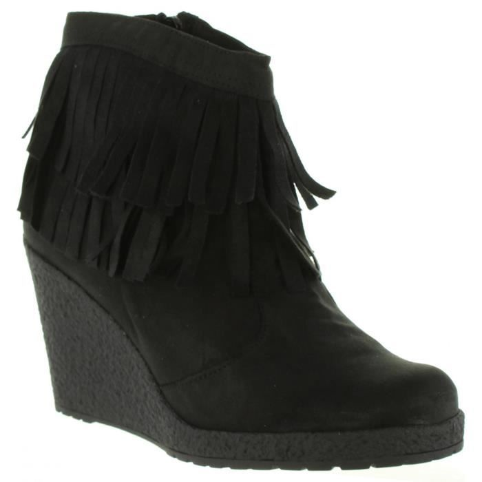 Bottines pour Femme MTNG 53940 C5893 MICROF NEGRO We1BBV