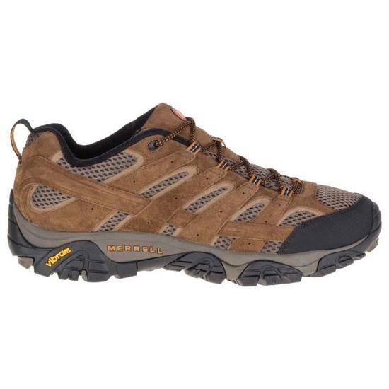Merrell Hommes Moab 2 Vent Chaussures De Marche Brun-Sports Extérieur Respirant