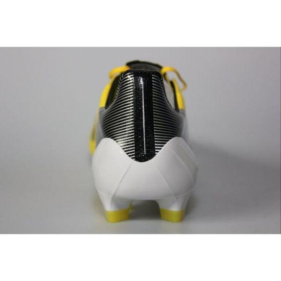 Adidas F50 ADIZERO TRX FG SYN JAUNE/BLANC/NOIR - Cdiscount Sport