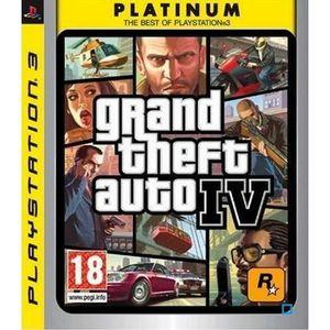 JEU PS3 GTA IV PLATINUM / Jeu console PS3