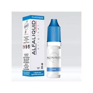 LIQUIDE Lot 10 e-liquides ALFALIQUID FR-M 10ml 11mg