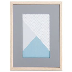 CADRE PHOTO Atmosphera - Cadre photo MDF gris Jade 10X15 L, 16
