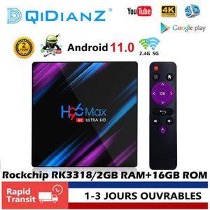 BOX MULTIMEDIA DQiDianZ Android 9.0 H96MAX 2GB+16GB WIFI Quad Cor