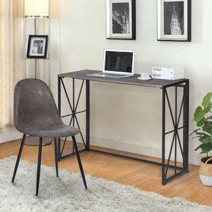 BUREAU  Bureau pliable petit bureau mordene Table de Burea