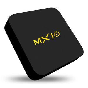 BOX MULTIMEDIA MX10-RK3328 4G + 32G Décodeur intelligent Boîtier