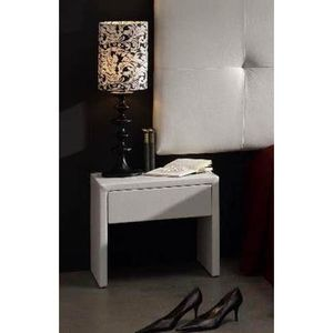 Table de nuit recouverte mod le paris achat vente for Modele table de nuit