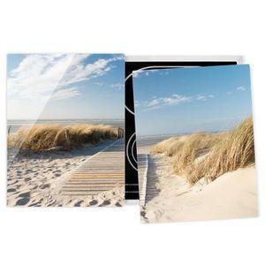 PLAQUE INDUCTION Couvre plaque de cuisson - Baltic Sea Beach - 52x8