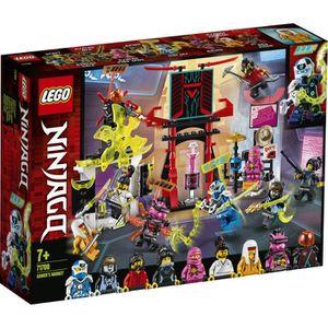 ASSEMBLAGE CONSTRUCTION LEGO® NINJAGO® 71708 Le marché des joueurs
