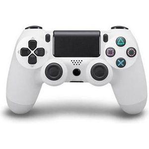 MANETTE JEUX VIDÉO Manette PS4 Sans Fil pour Controleur de Jeux, Blan