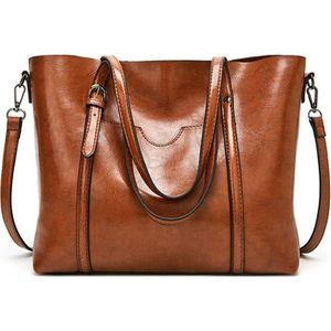 Sac cabas Marron - Cdiscount Bagagerie - Maroquinerie