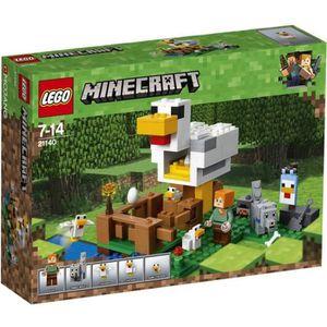 ASSEMBLAGE CONSTRUCTION LEGO® Minecraft™ 21140 Le poulailler