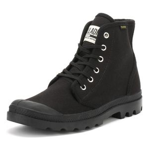 BOTTE Palladium Noir Pampa Originale Hi Bottes